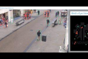 AI Social Distancing Detector Tool