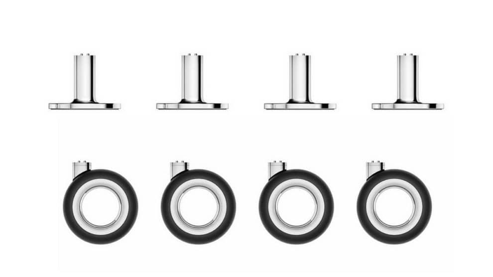 Apple Mac Pro Wheels Feet Price