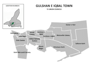 Areas Karachi Lockdown Gulshan Town District East