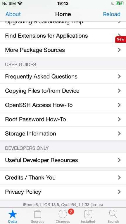 Checkra1n 0.10.1 supports iOS 13.5 dev beta 3