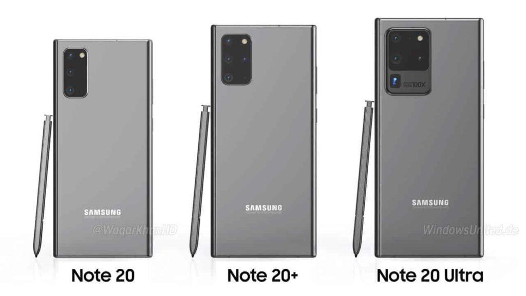 Galaxy Note 20 design