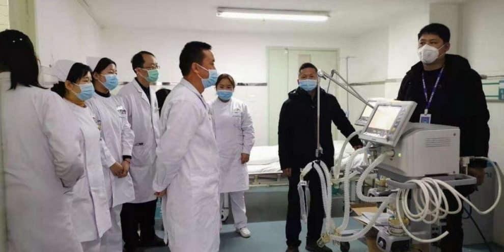 Ventilator Scam China
