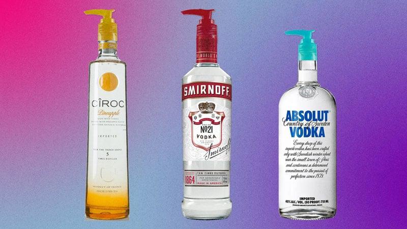 Vodka Hand Sanitizer Coronavirus