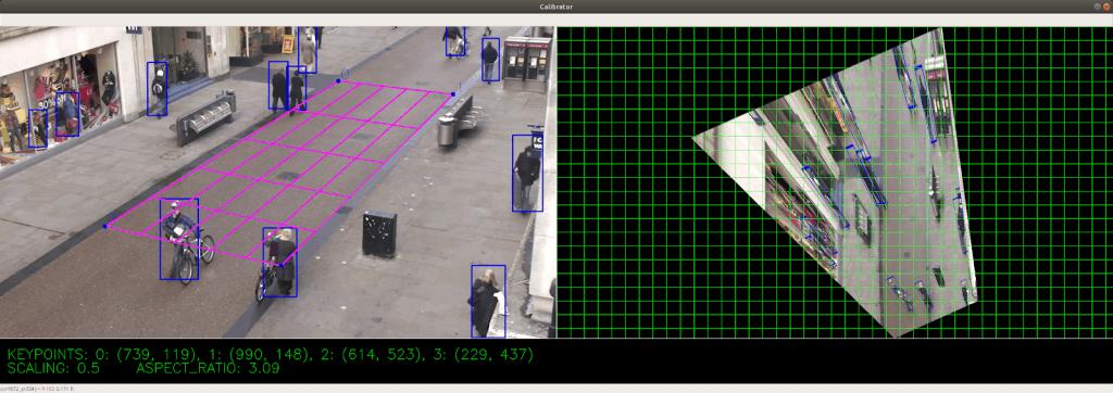 AI Social Distancing Detector