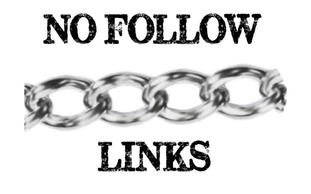 add nofollow external links