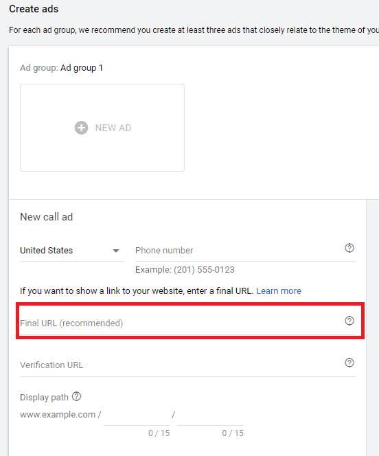How To Set-up New Google Call Ads