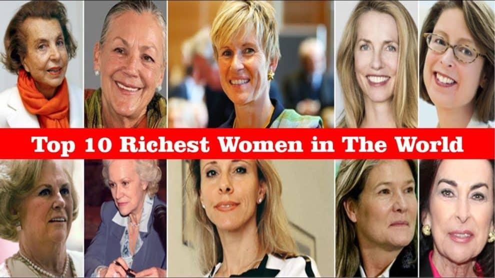 top 10 richest women world