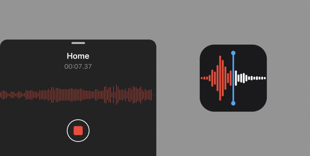 voice memos iphone