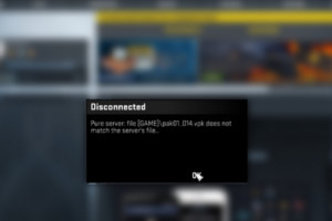 CS:GO Pure Server Disconnect Issue Bug