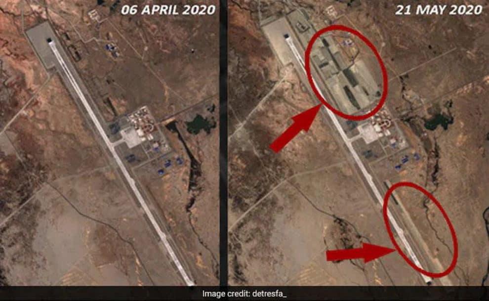 China Airbase Images Ladakh 3