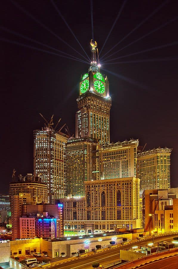 Makkah Royal Clock Tower Top 10 tallest Buildings