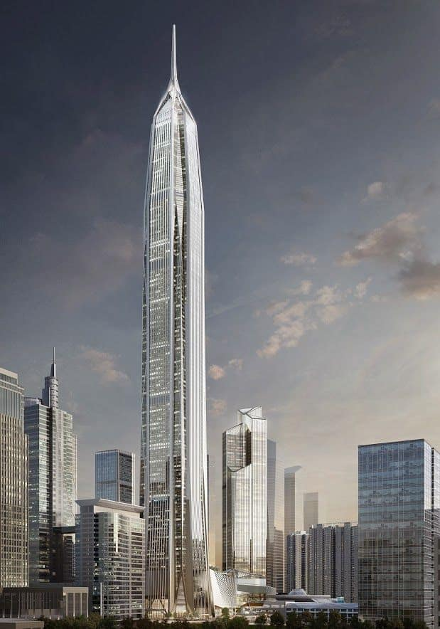 Ping An Finance Center Top 10 tallest Buildings