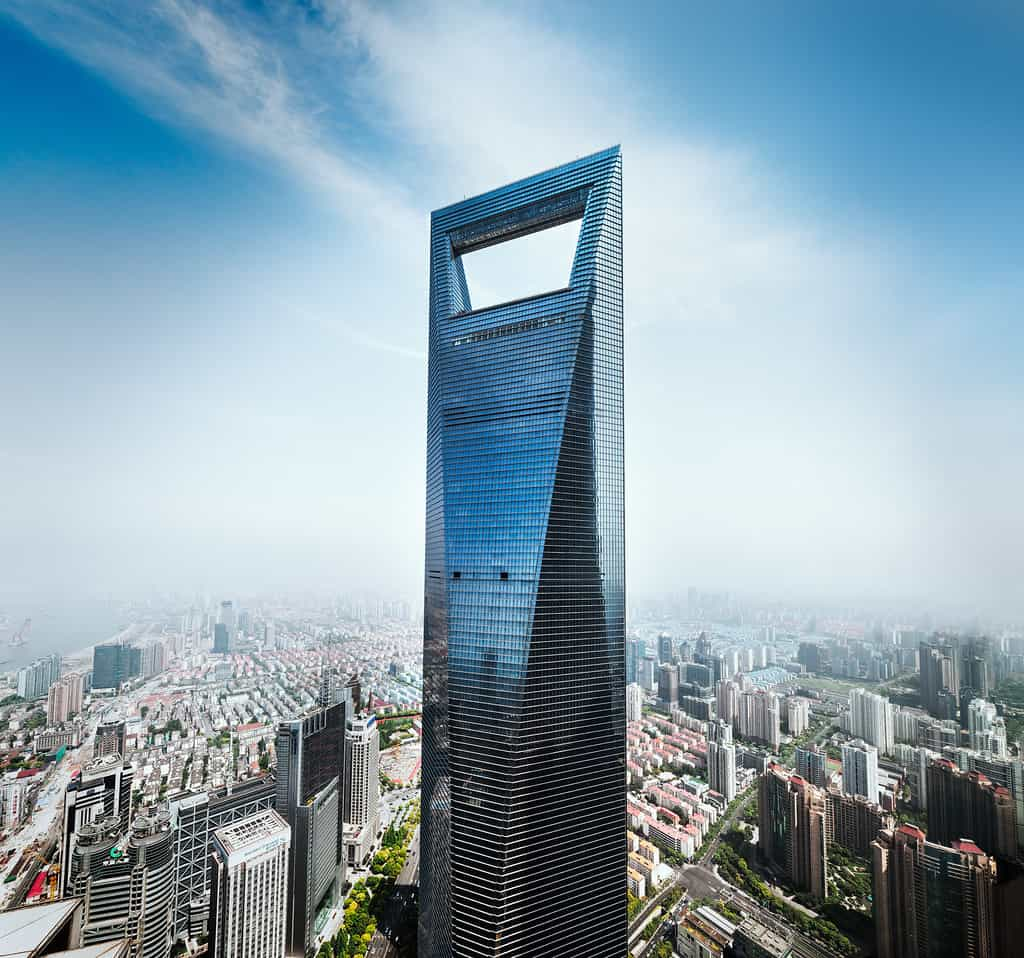 Shanghai World Financial Center - Top 10 tallest Buildings