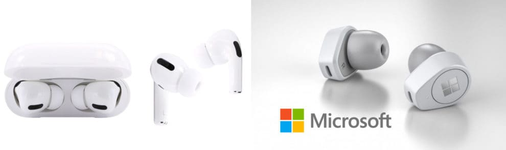 Surface Earbuds vs AirPods Pro