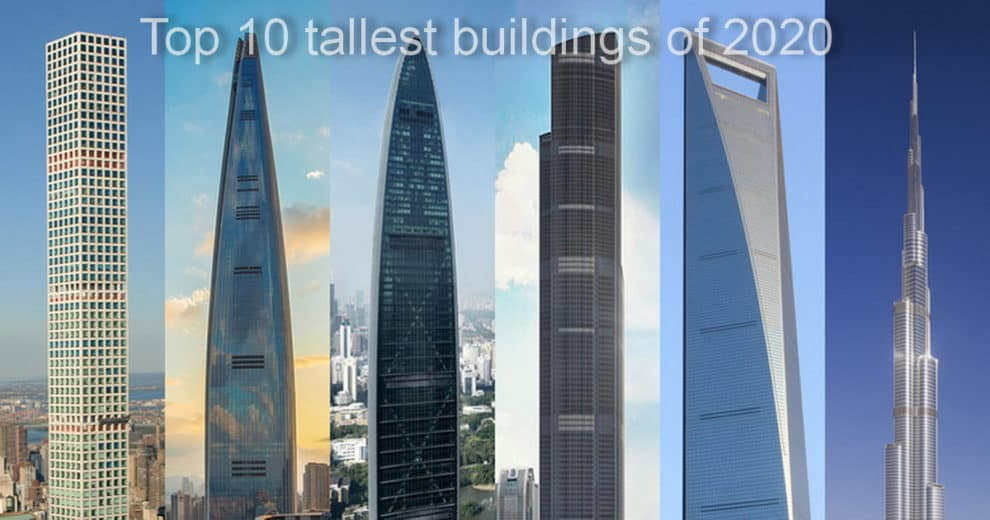 Top 10 tallest buildings 2020