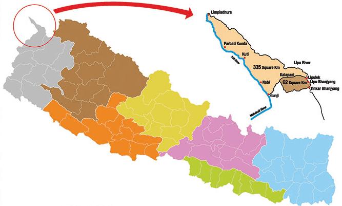 new nepal map photo