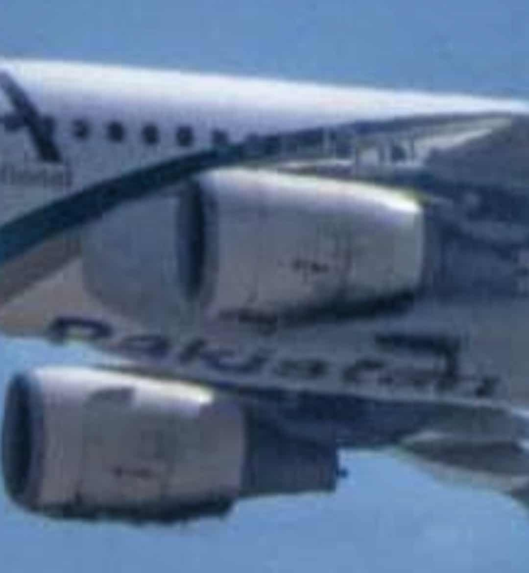 Photos / Images taken moments before PIA plane crash show engines charred due to fire