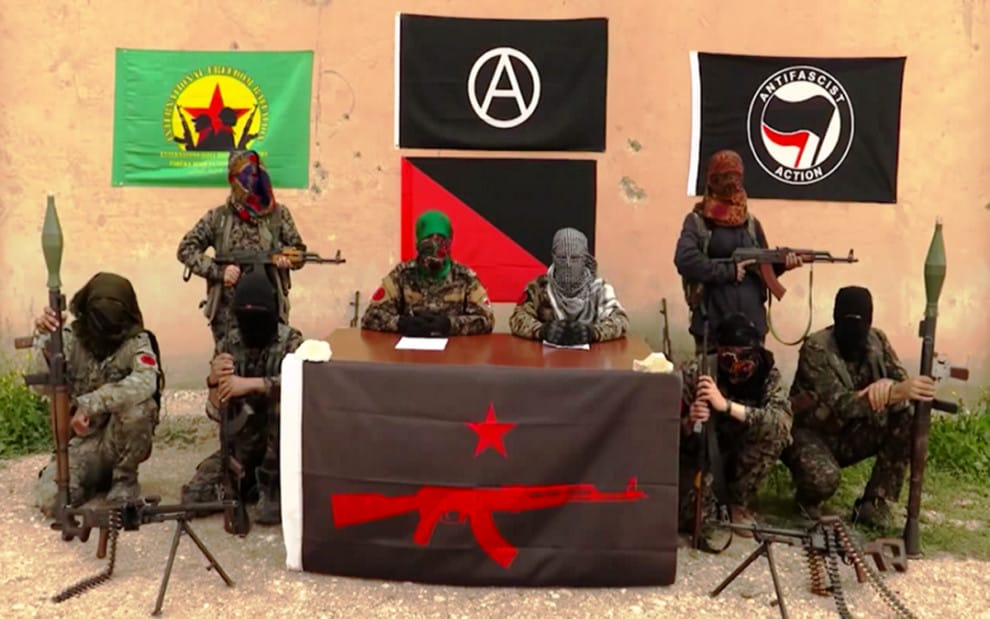 Antifa Syria US europe