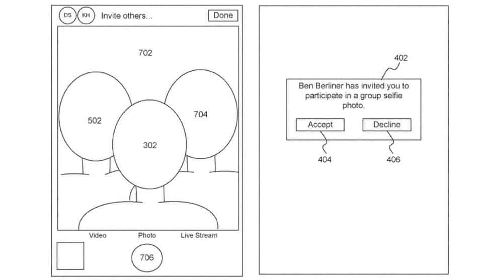 Apple Patent Socially Distant Group Selfies