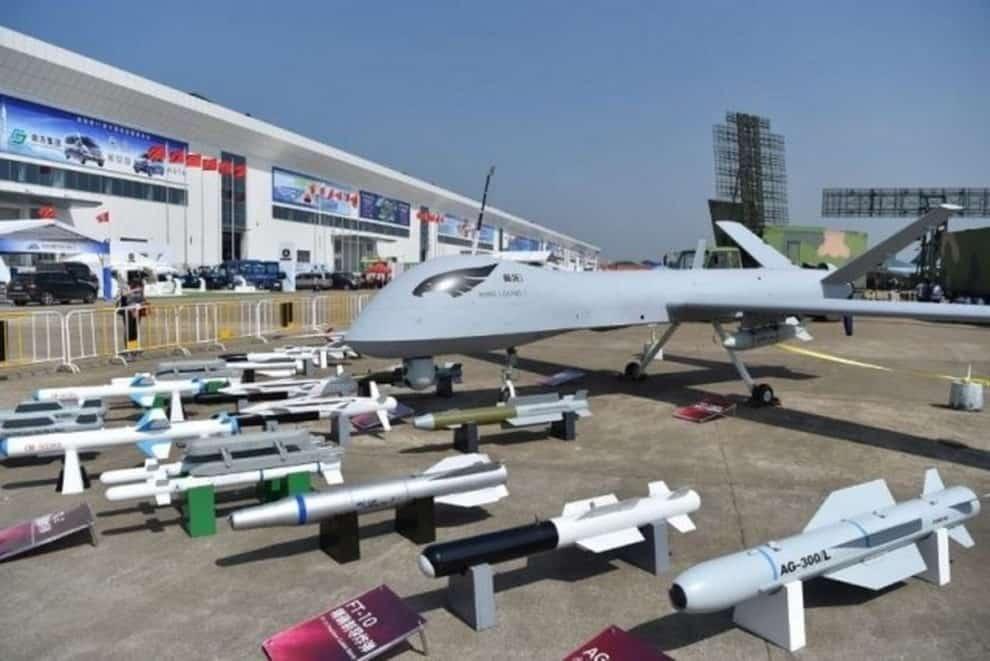 China Weapons Used Border India