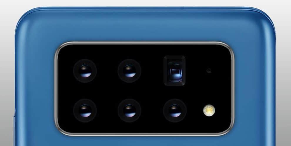 Galaxy S30 Six Cameras