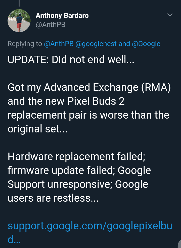 Google Pixel Buds Audio Issues
