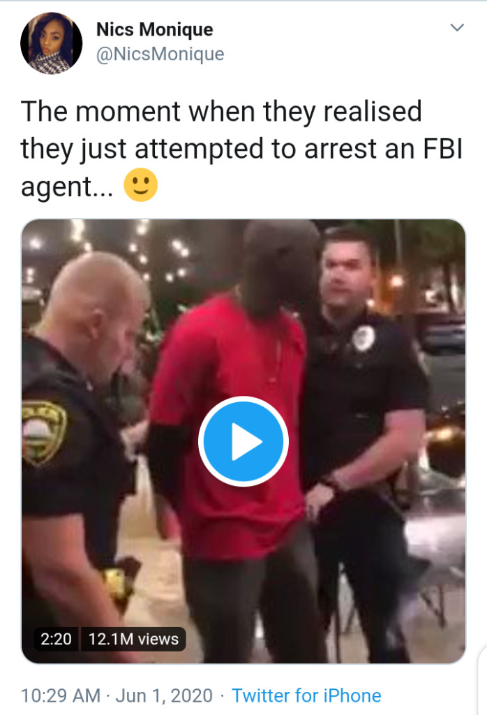 Man Arrested In Viral Video By Rochester Police Is Not FBI Agent