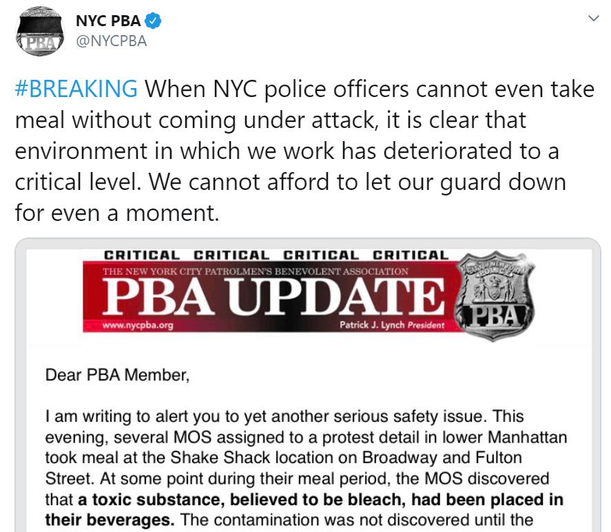 NYC PBA