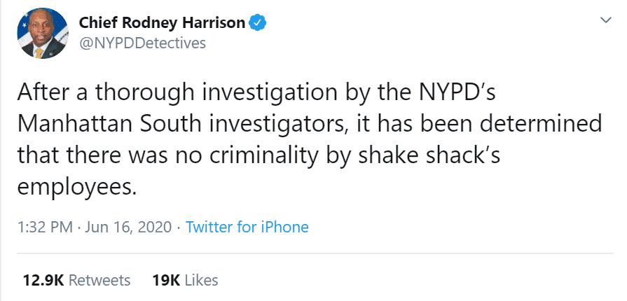 NYPD officers fall sick after drinking Shake Shack milkshake