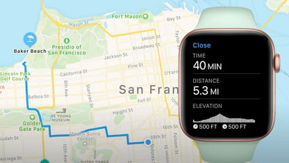 apple watch cycling direction maps