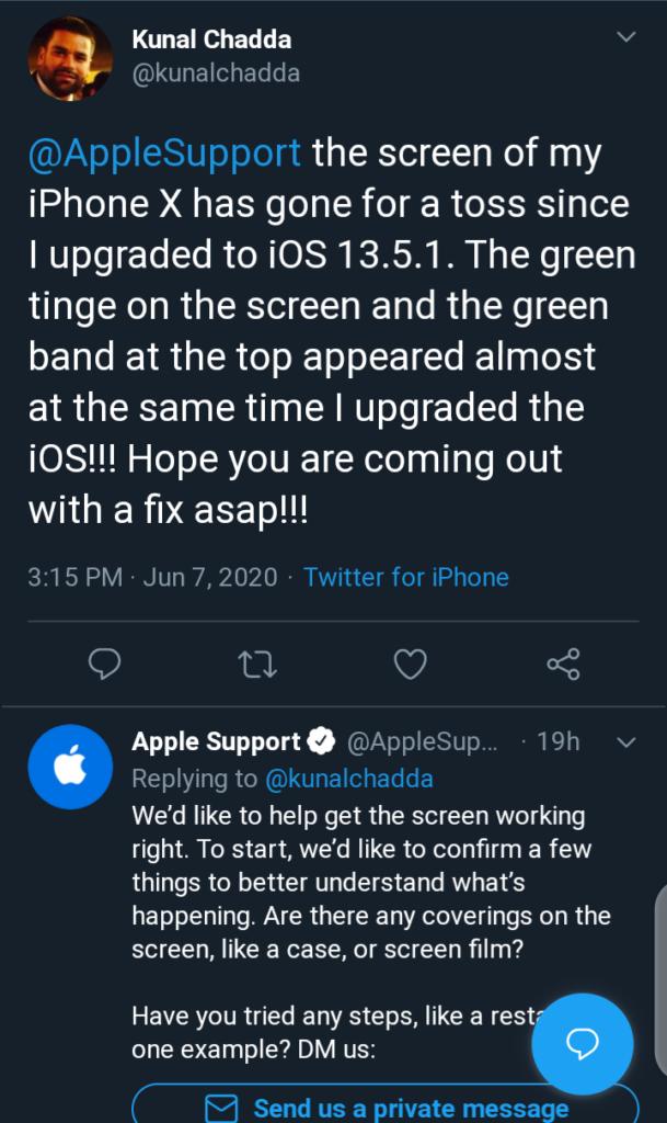 iPhone 11 Green Tint Displays