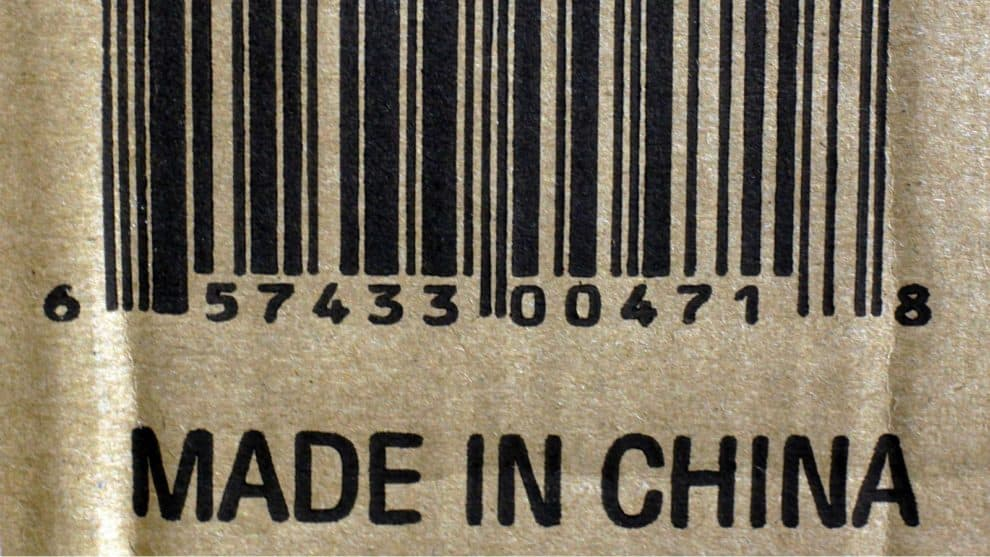 Amazon Made-In-China Labels India