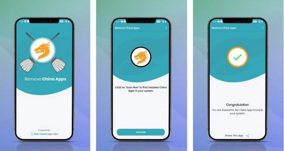mitron remove china app