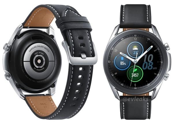 Galaxy Watch 3 Render Leak