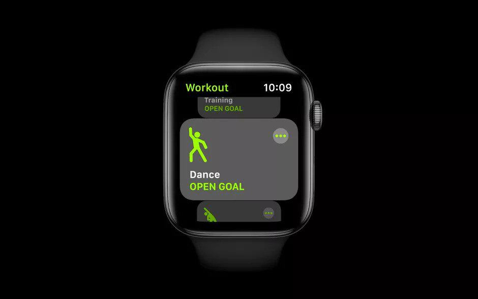 watchOS 7 dancing app health fitness app