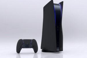 PS5 Color Options Black color