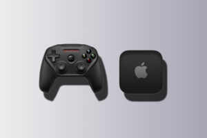 Apple gaming console game