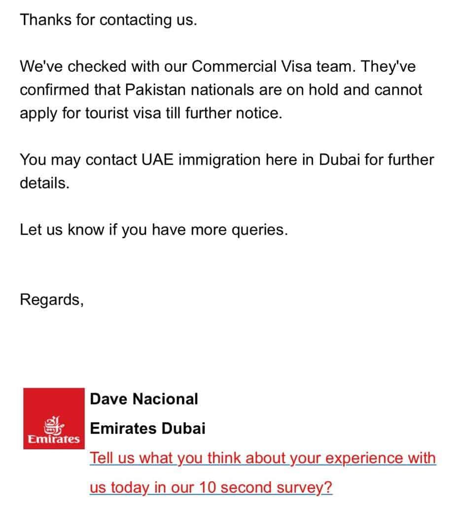 Dubai hold restricted visa india pakistan