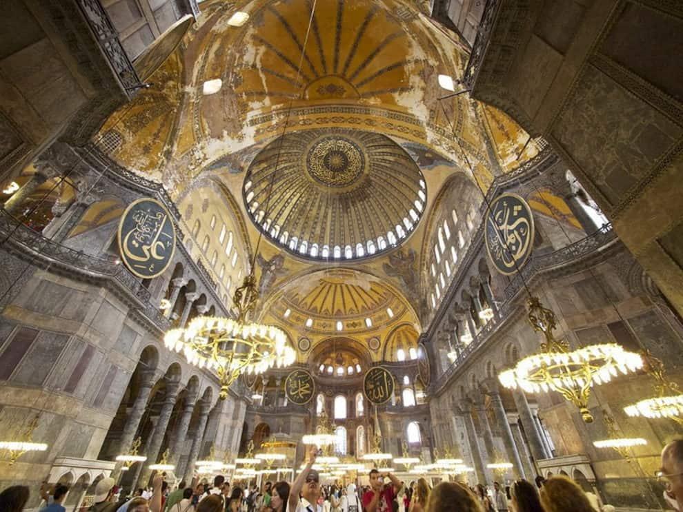 Hagia Sophia mosque reconvert