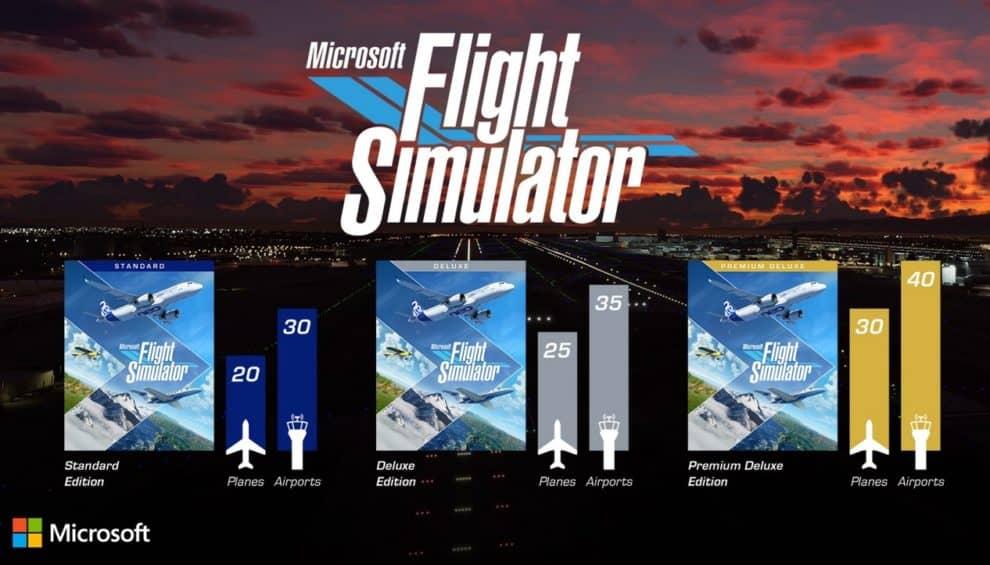 Release date Pre-Download Pre-order microsoft flight simulator PC