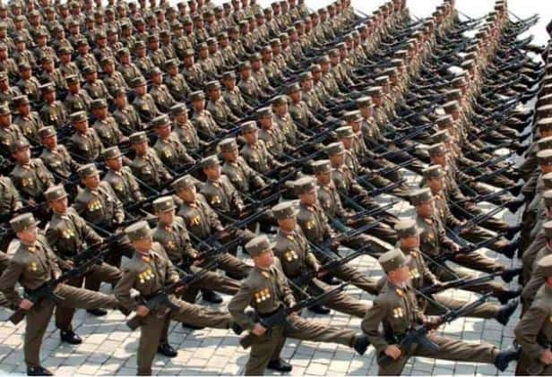 North Korea Army Top 10 Countries With Largest Armies In The World