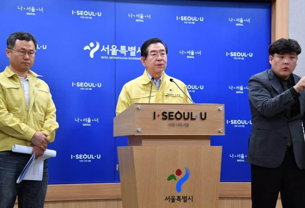 SEOUL Mayor Dead