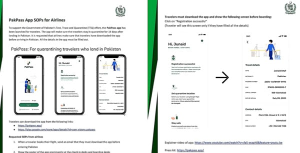 PakPas App for SOPs