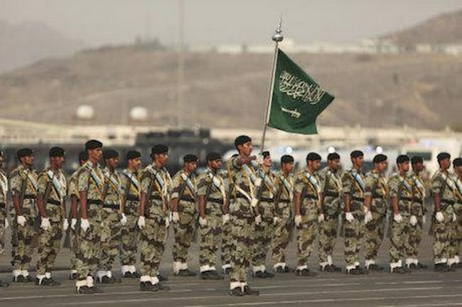Saudi Arabia army Top 10 Countries With Largest Armies In The World