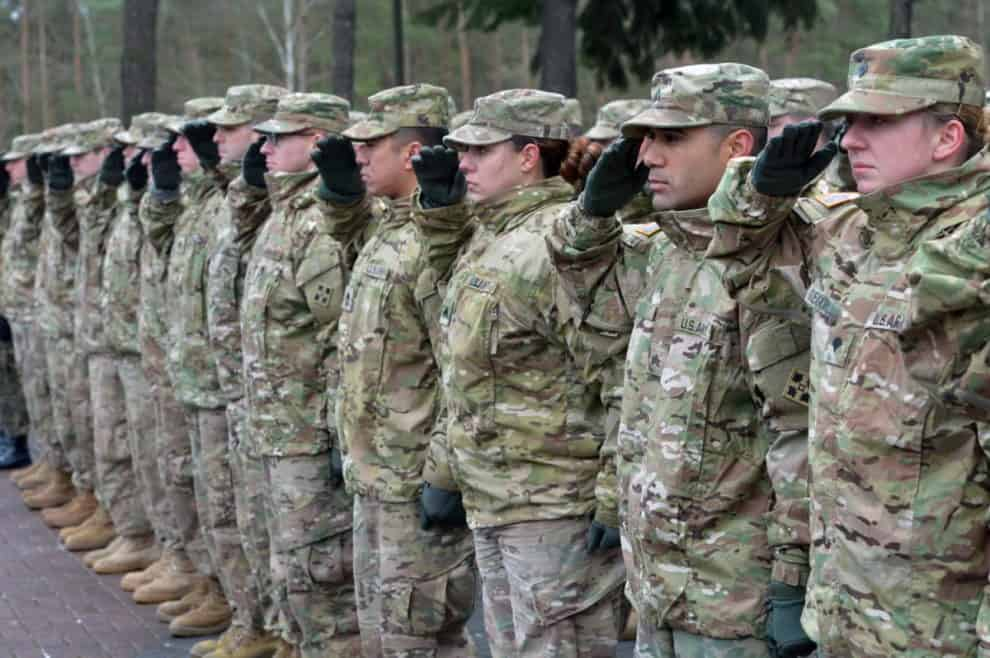 American US Poland Troops germany