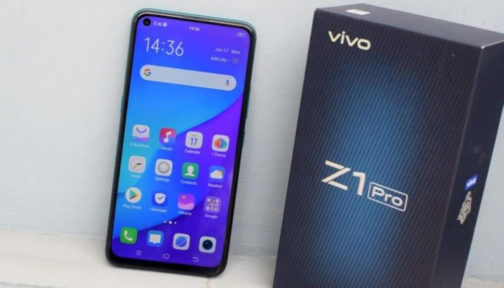 Vivo Z1 Pro Android 10 update release