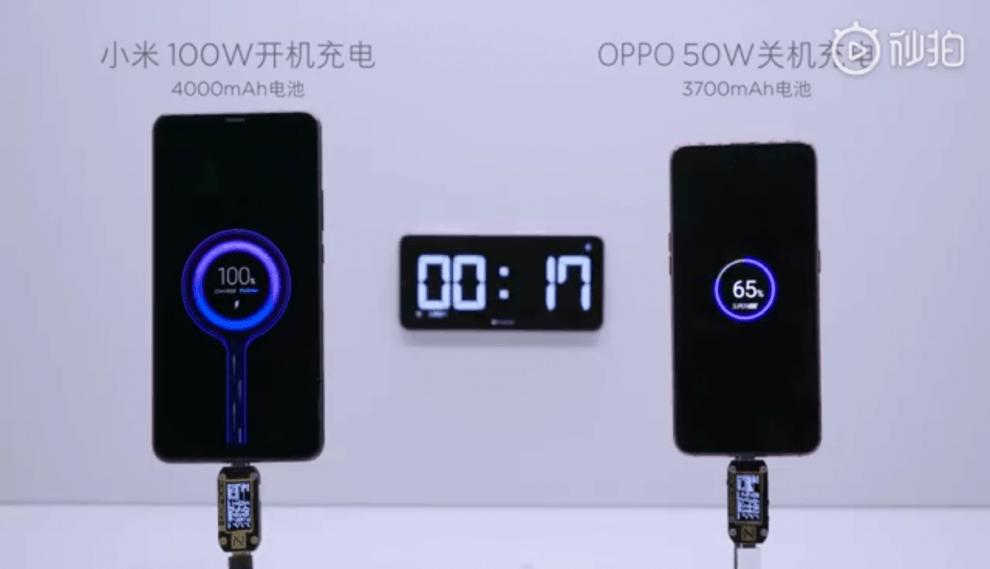 Xiaomi 100W super charge turbo Phone