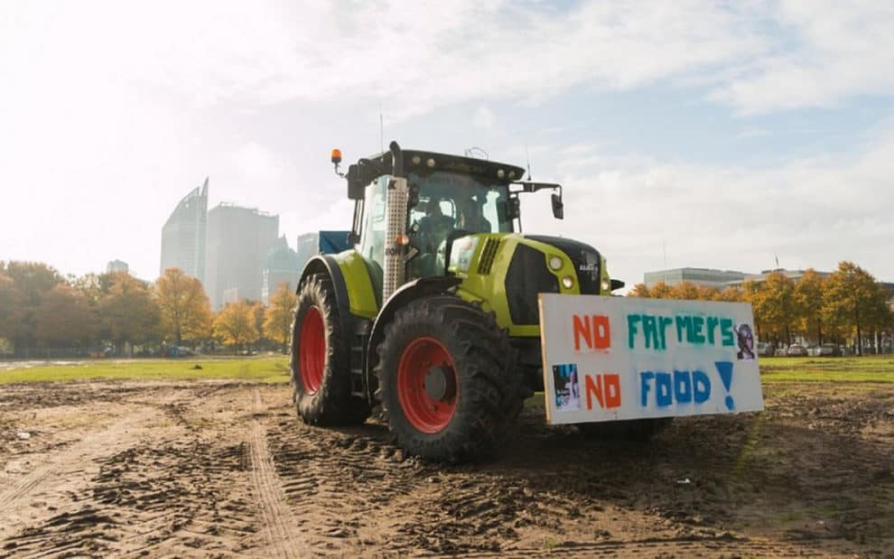 farmers protests netherlands dutch government