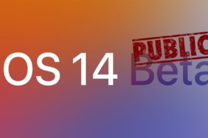 iOS 14 public beta 1 download install