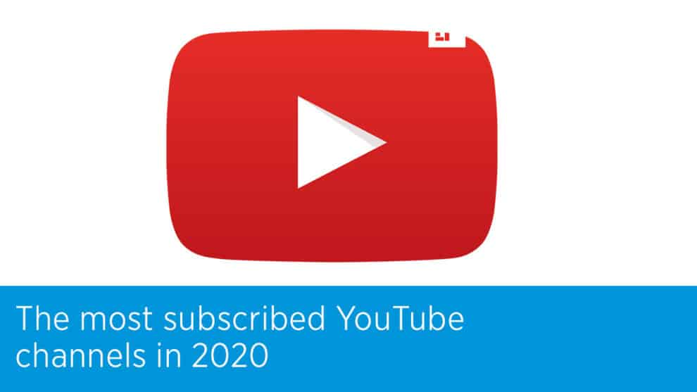 Top 10 YouTube Channels With Most Subscribers 2020